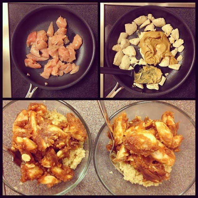 Peanut Butter Chicken & Quinoa