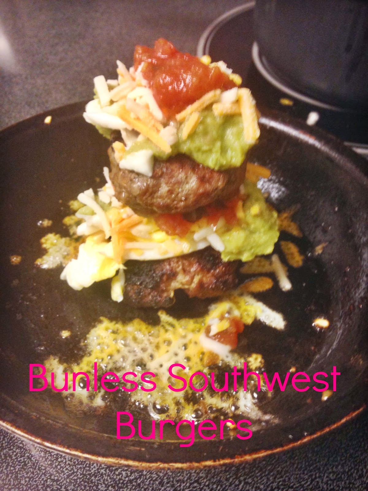 Bunless Southwest Burgers