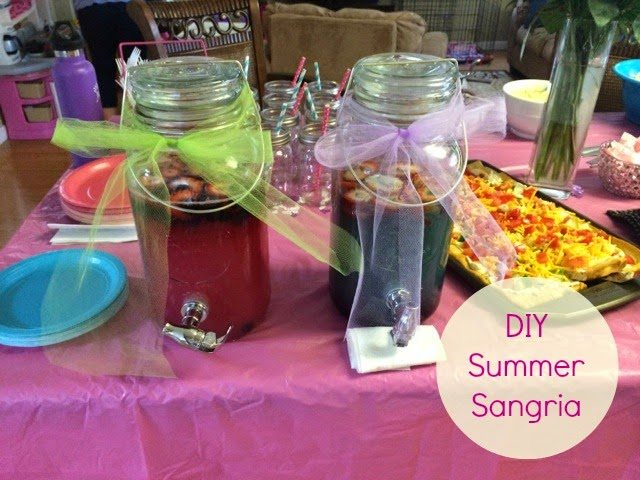 DIY Summer Sangria
