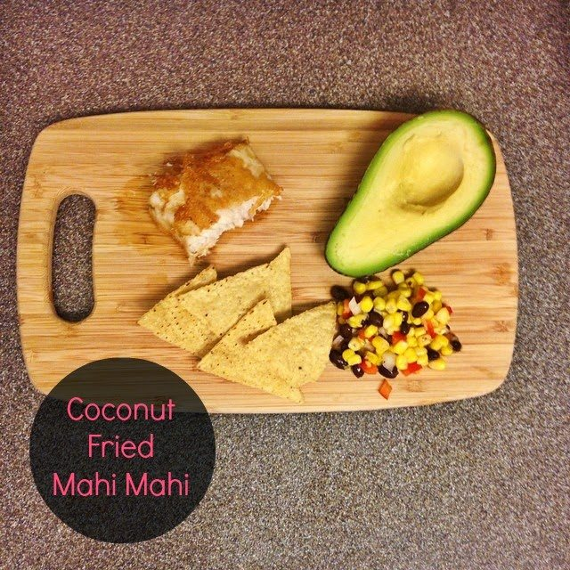 Coconut Fried Mahi Mahi