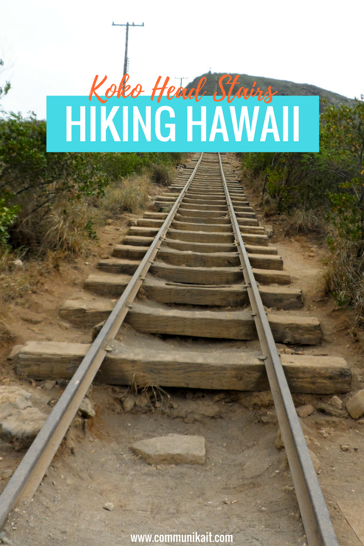 HIKING HAWAII-Koko Head Crater Steps
