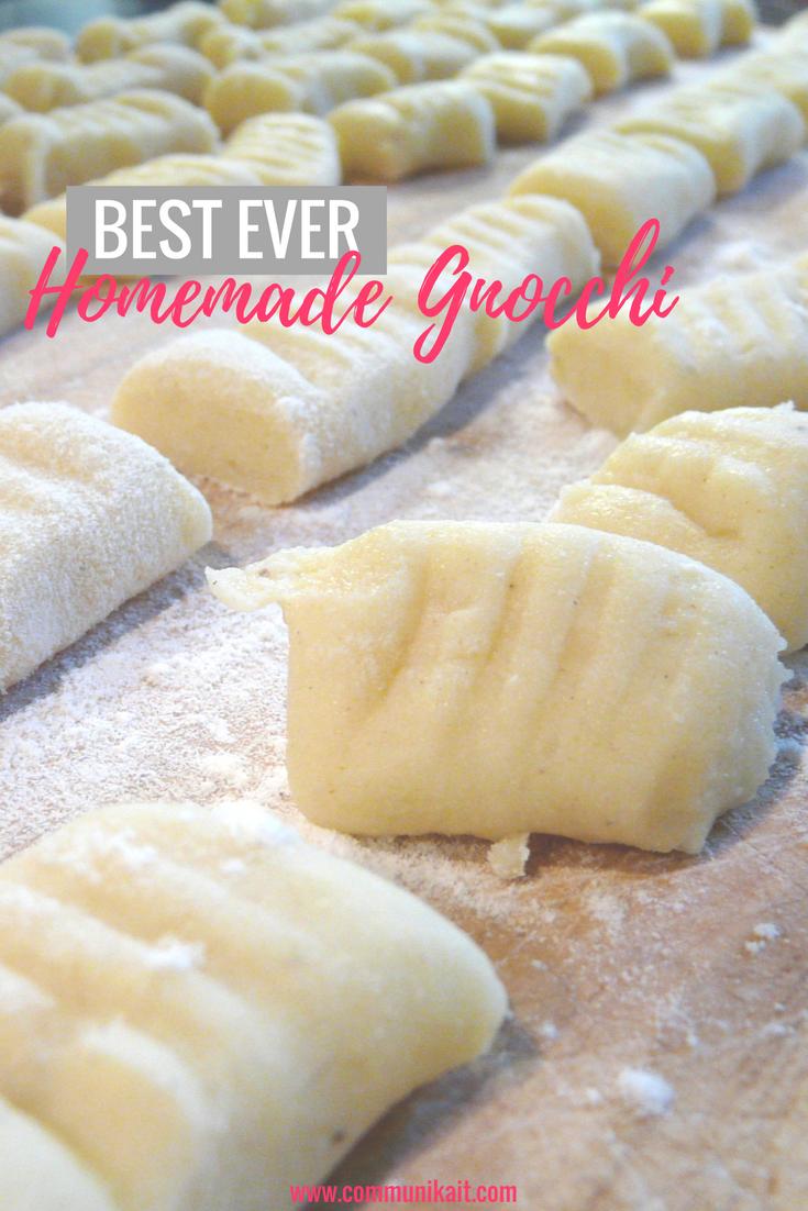 Best Ever Homemade Gnocchi