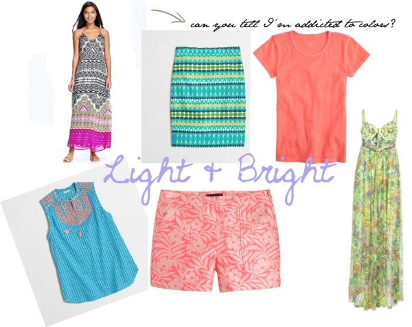 A Fashionable Love List – Neons & Color
