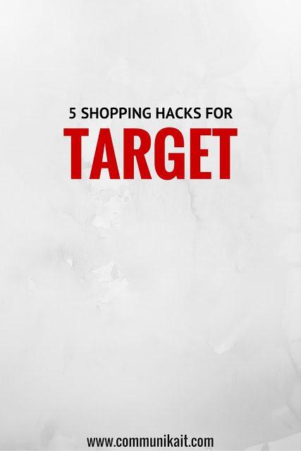 My 5 Favorite Target Hacks