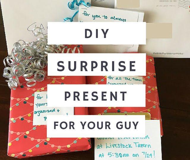 DIY: A Congratulatory Present For Guys - Communikait by Kait Hanson