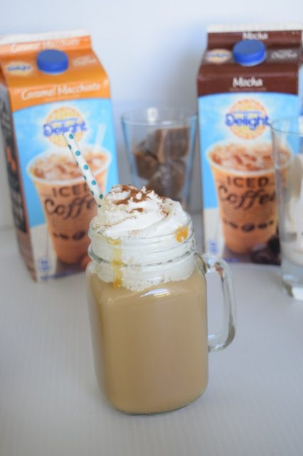 Easy Pumpkin Spice Creamer Cubes & Mocha Orange Ice Cubes