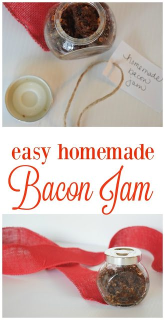 Homemade Bacon Jam - Appetizer - Recipe - Holiday Gift - Communikait by Kait Hanson