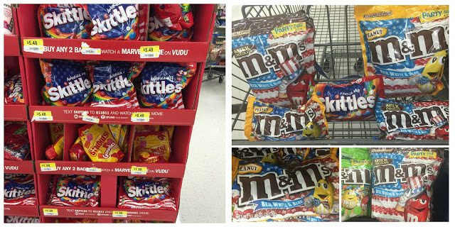 Red, White & Blue Treats For Troops