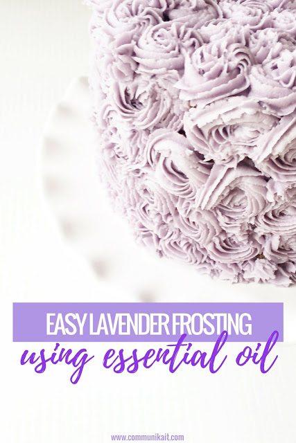 Easy Lavender Frosting