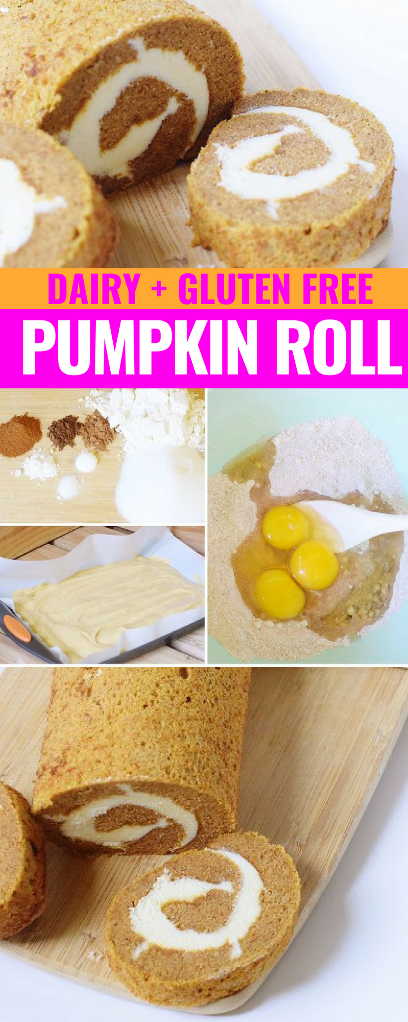 Pumpkin Roll With A Spice Cake Mix Recipe