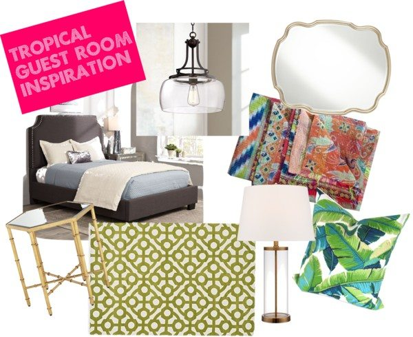 Tropical Guest Room Inspiration + Brainstorming