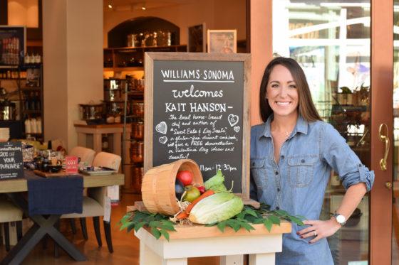 Gluten Free Valentine's Day at Williams Sonoma