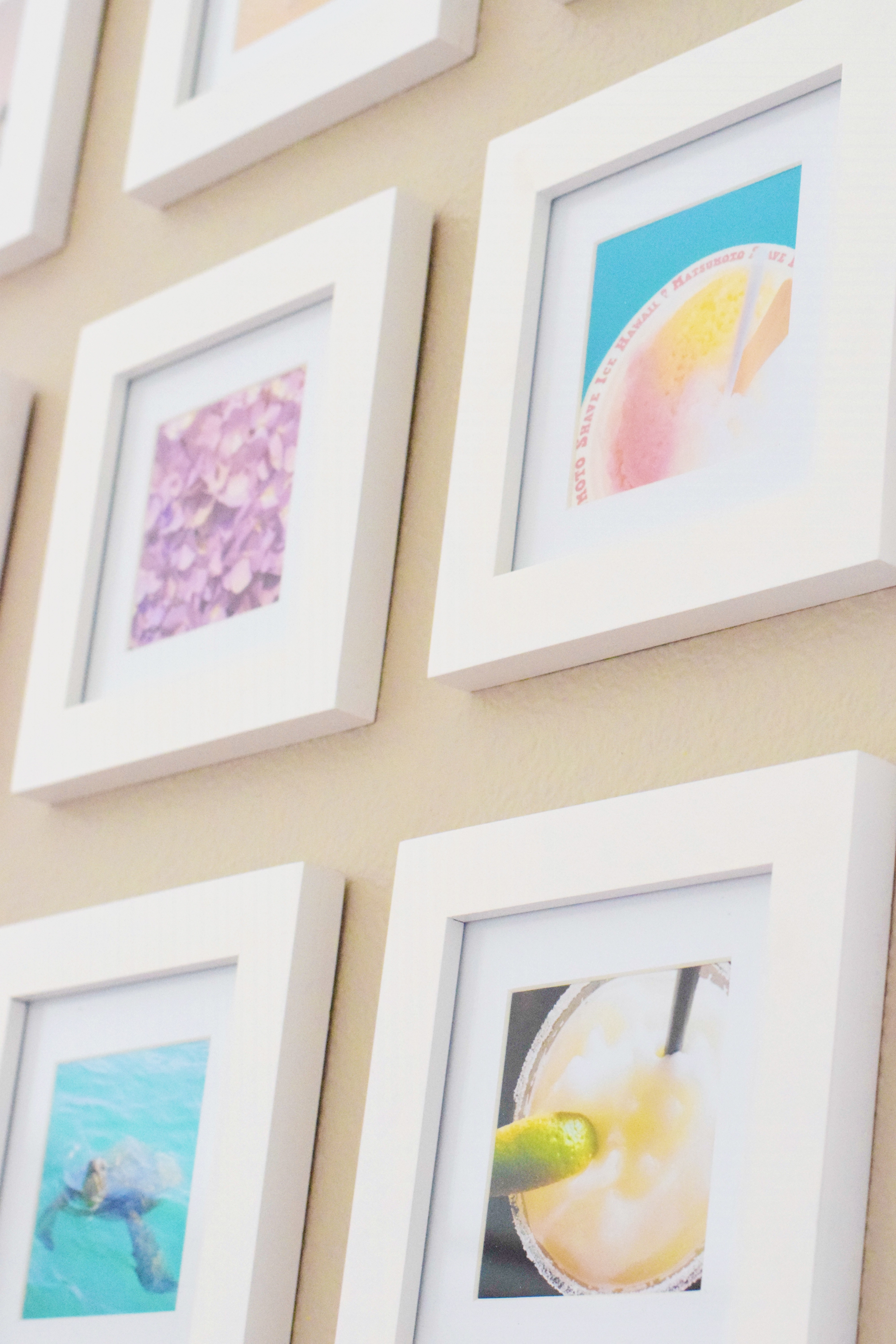 DIY Instagram Wall - an easy afternoon project that showcases all your favorite snaps!