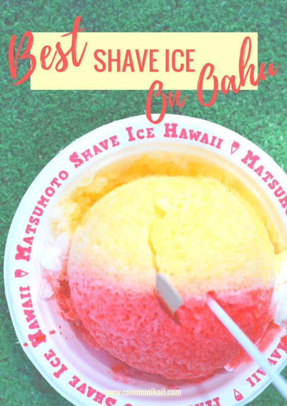 Best Shave Ice On Oahu