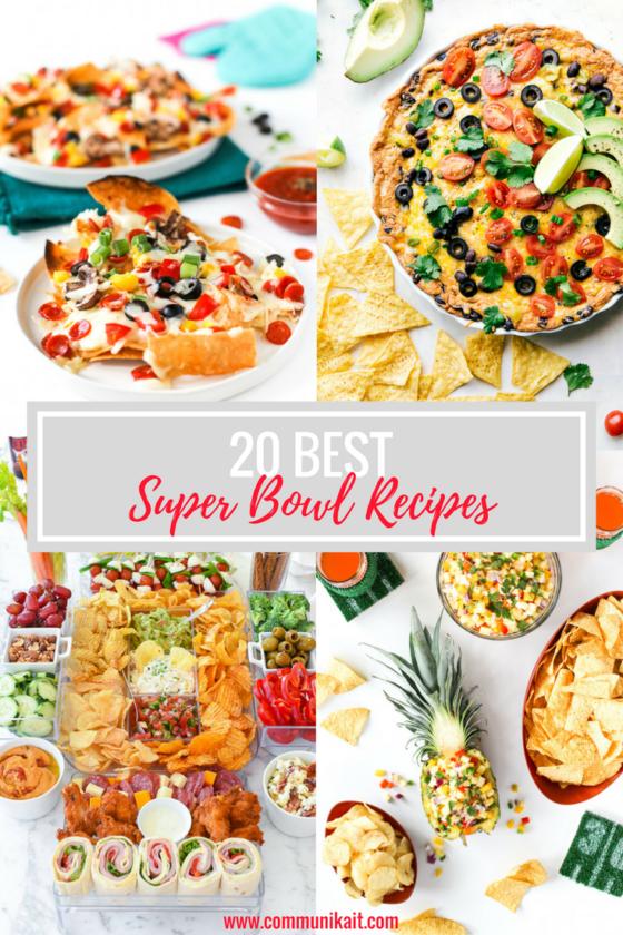 20 Best Super Bowl Recipes