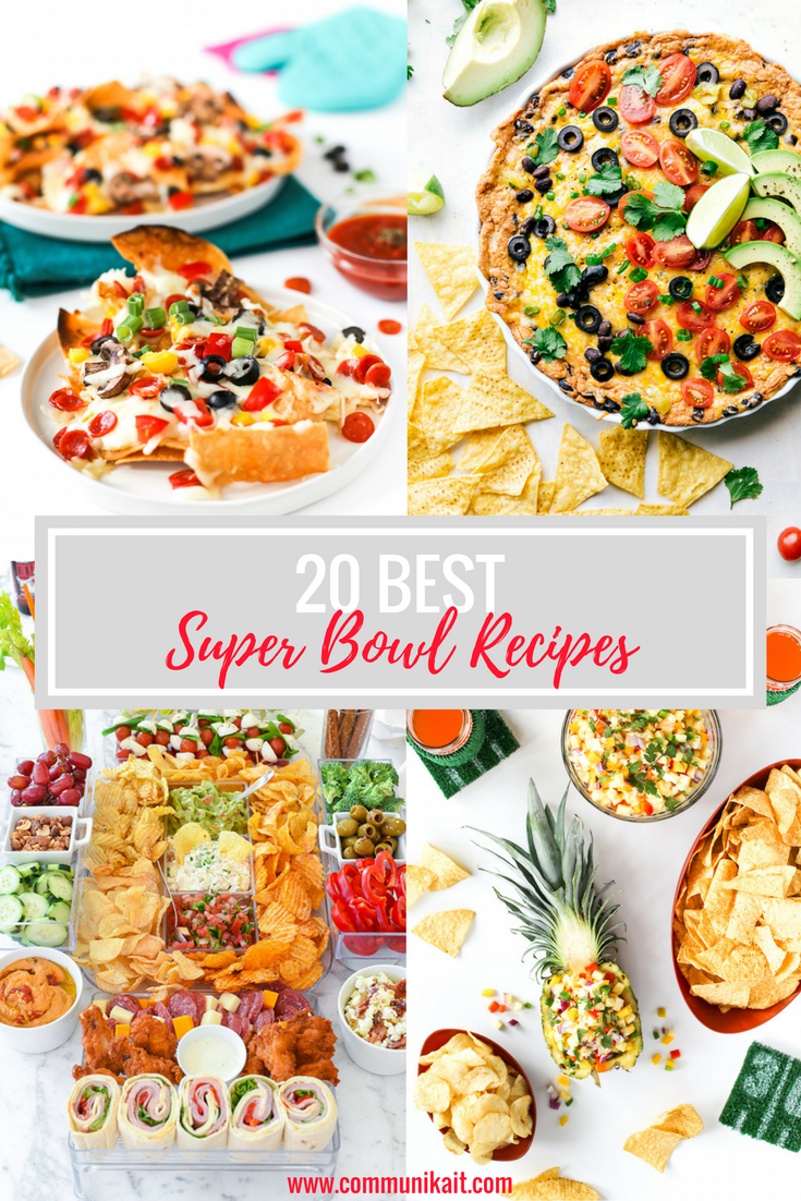 20 Best Super Bowl Recipes