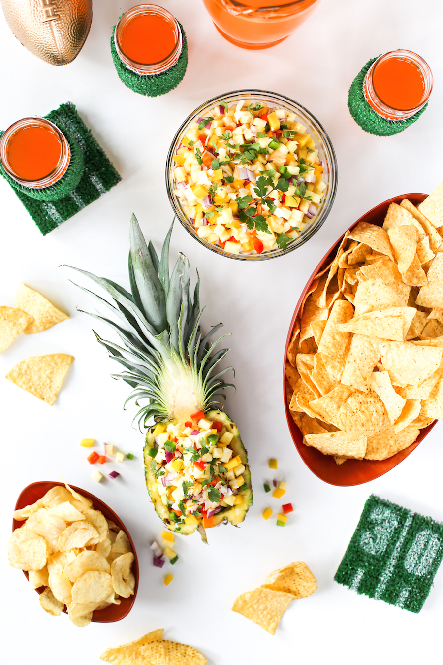 Spicy Pineapple Mango Salsa