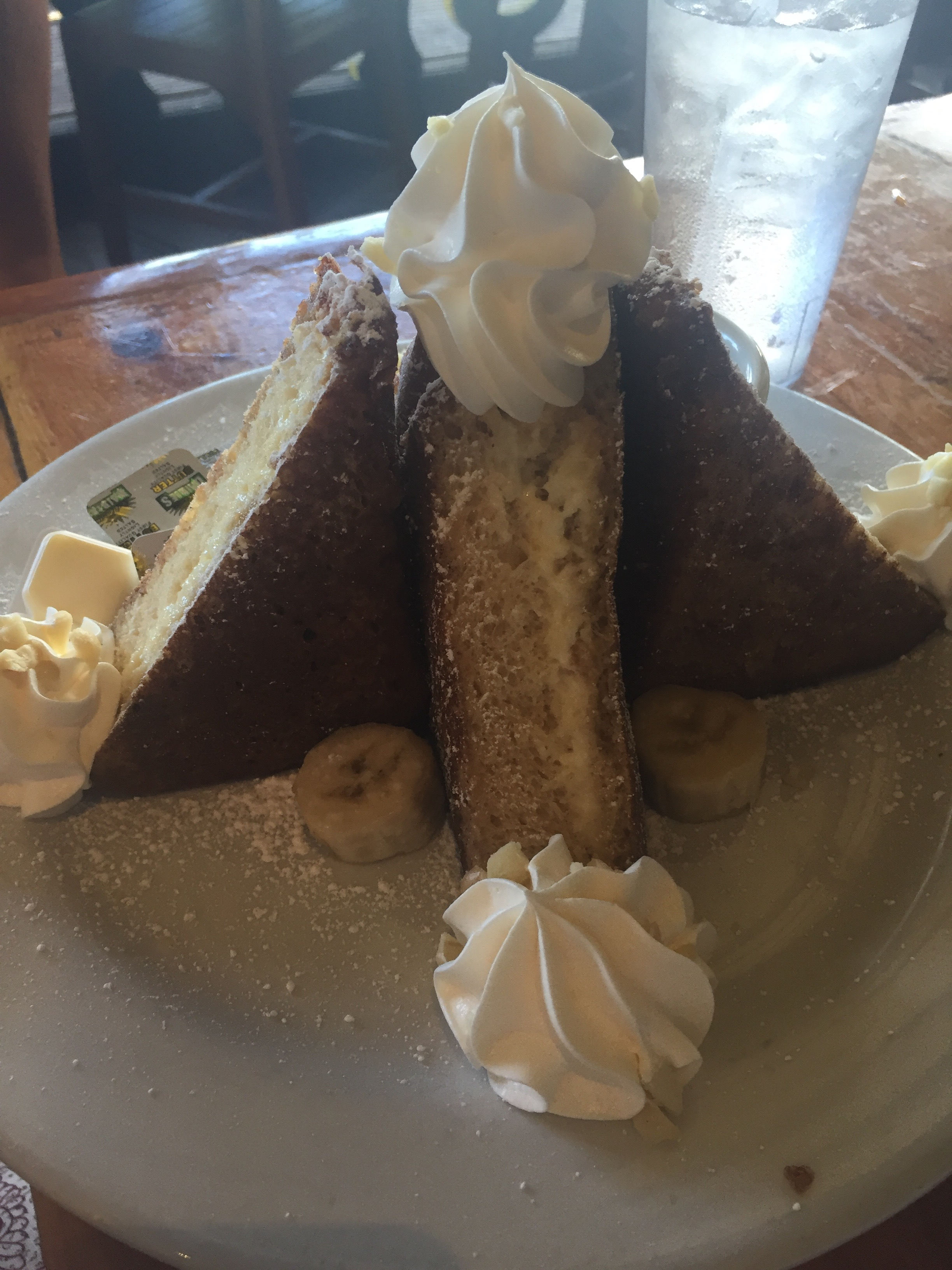 Stuffed French Toast -Lulu's, Waikiki Beach