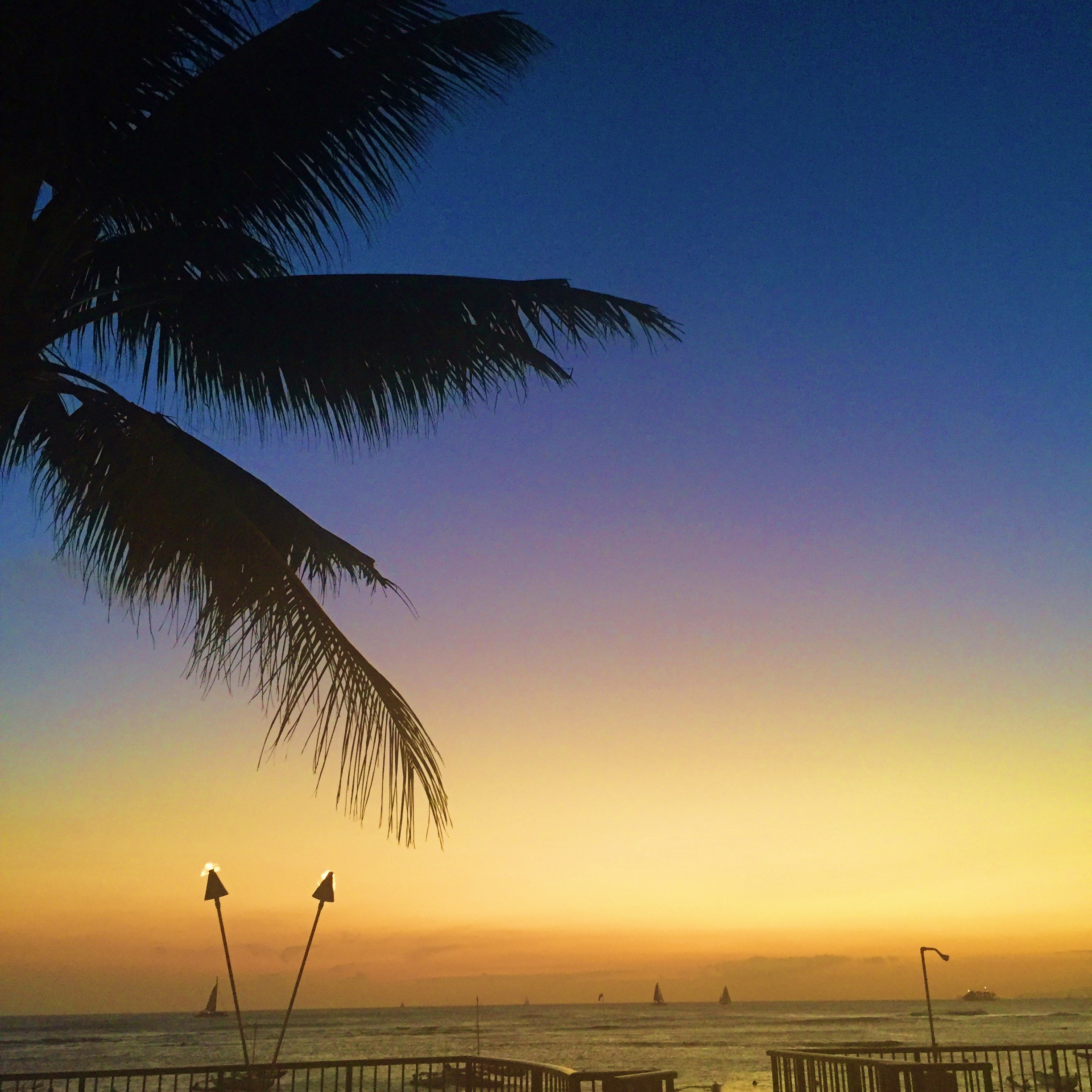 Waikiki Sunset - 5 Best Places To Watch The Sunset Oahu