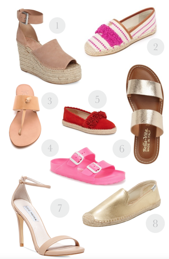 Summer Shoes I Can't Stop Thinking About