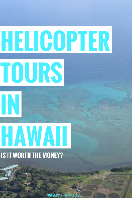 Helicopter Tours In Hawaii - Is it worth the money?