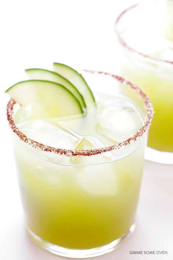 Spicy Cucumber Margarita -25 Margaritas For Cinco de Mayo