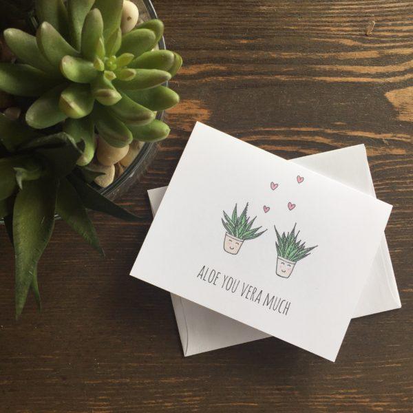 Aloe You Vera Much - Locali Creative - Greeting Cards - Hawaii - Aloha