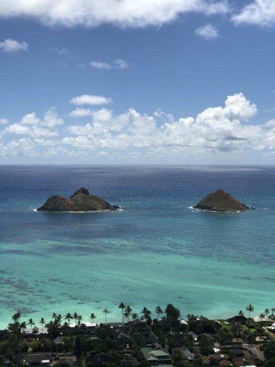 Hiking Hawaii - Lanikai Pillbox Hike - CommuniKait
