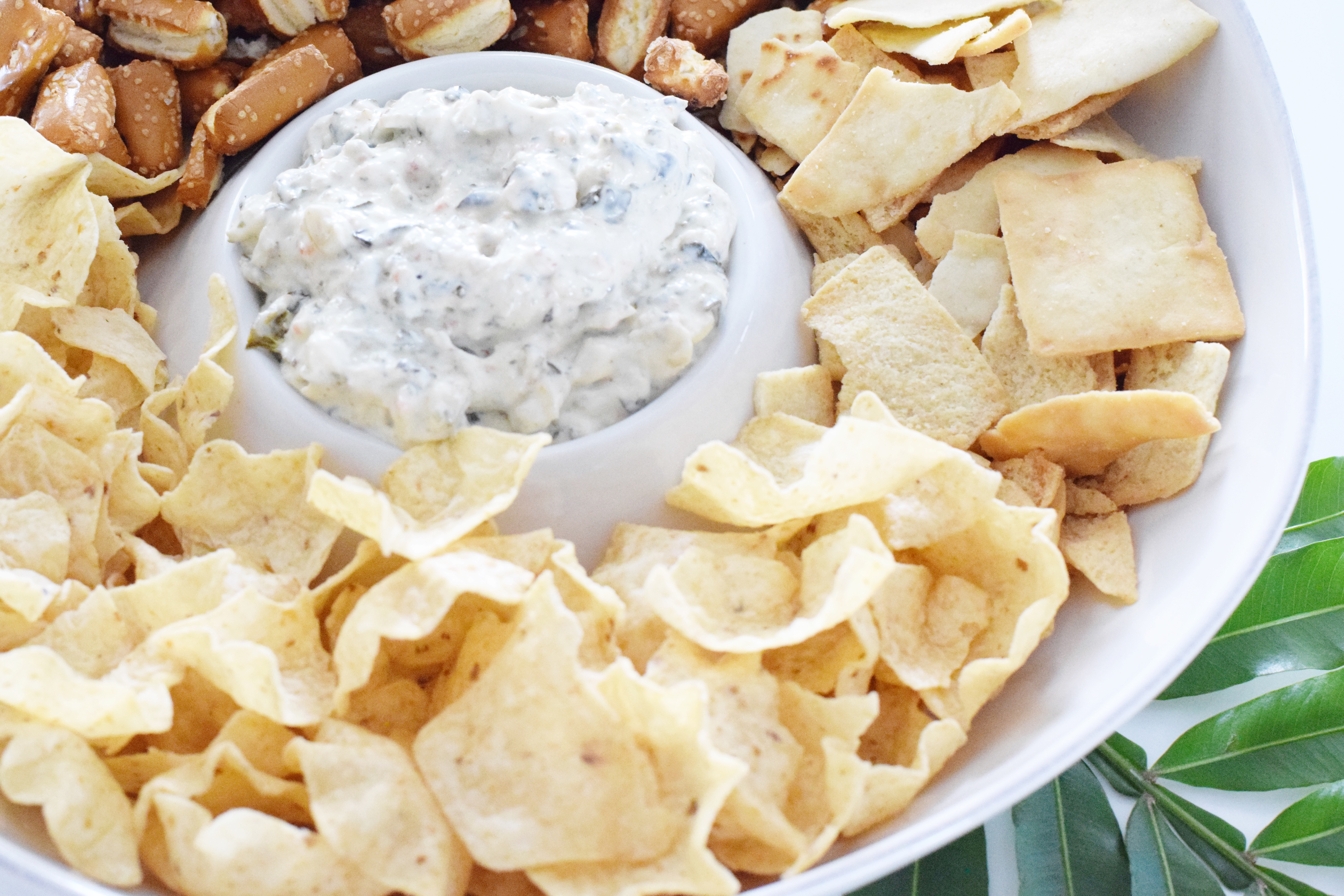Best Ever Better-For-You Spinach Dip - an easy appetizer recipe that is gluten and dairy free, pleases a large crowd and can be served all year long! - Communikait