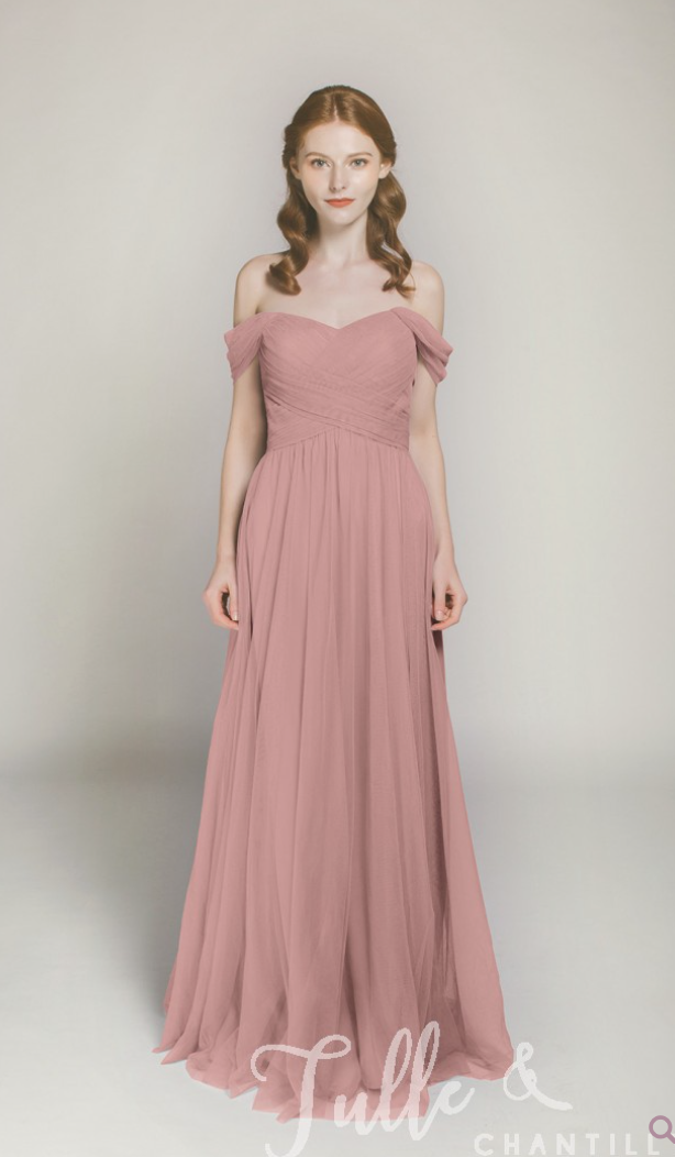 Dusty Rose Bridesmaid Dress - CommuniKait
