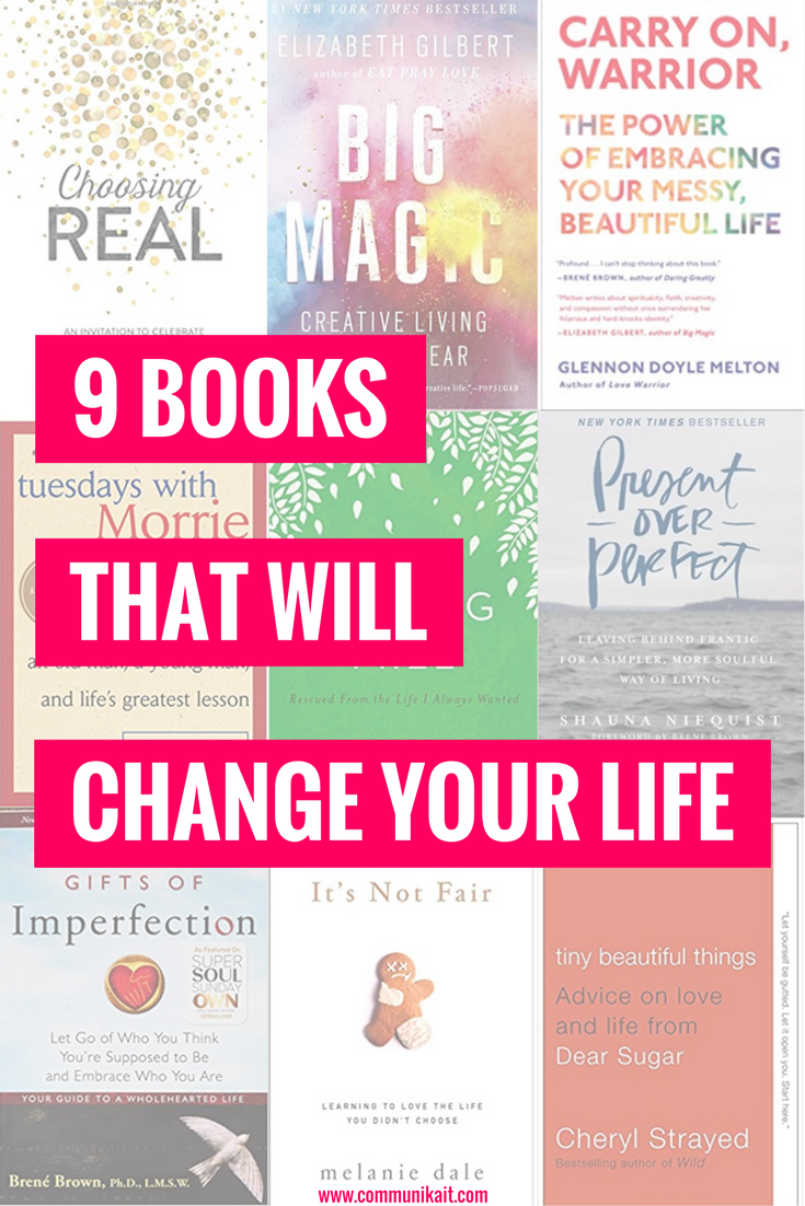 9 Inspirational Books That Will Change Your Life - CommuniKait