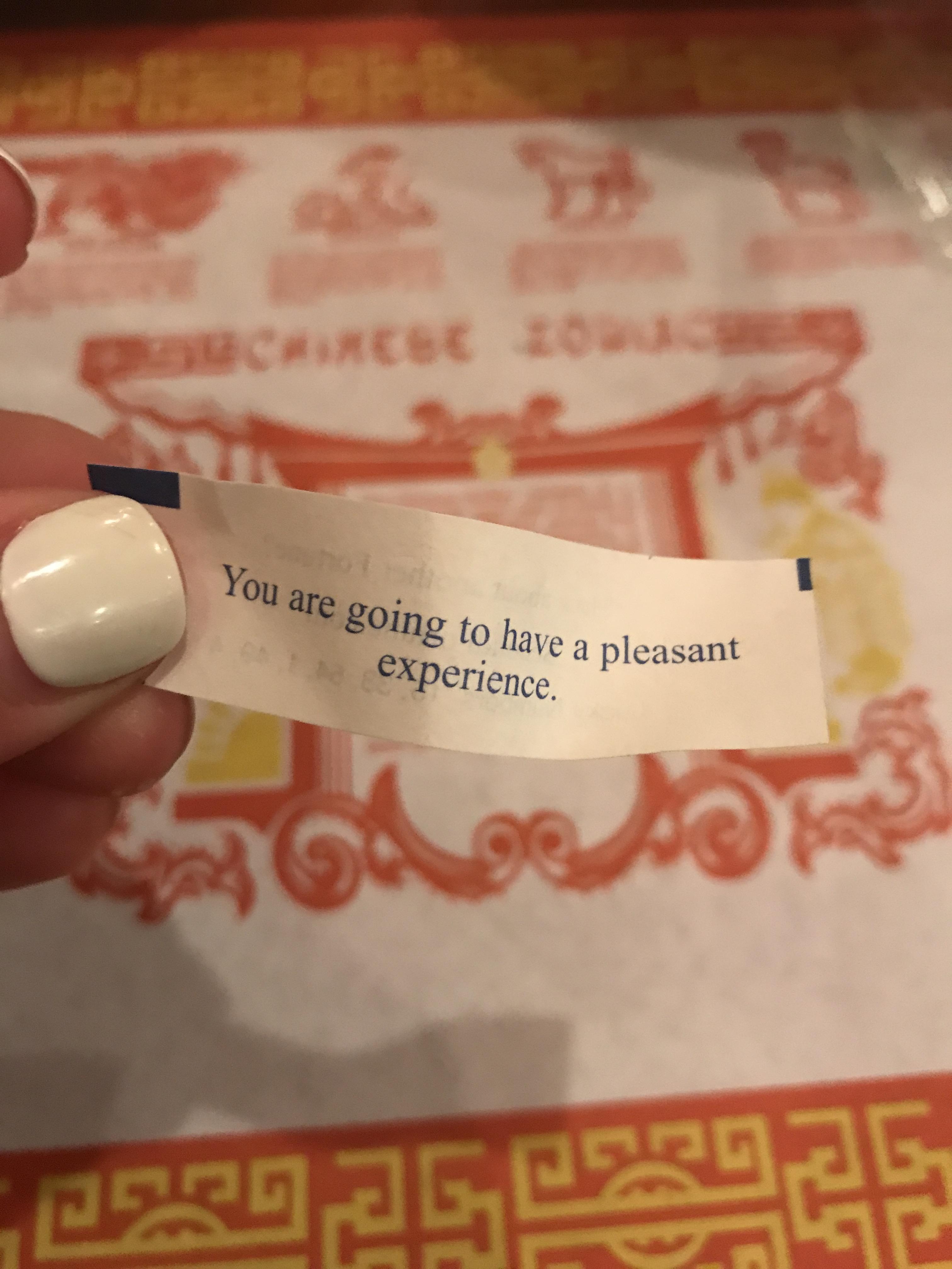 Chinese Restaurant Fortune - Communikait by Kait Hanson