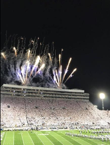 Penn State Football Game - Penn State Michigan Game -Beaver Stadium White Out - College Gameday - College Football - Penn State University - Communikait by Kait Hanson