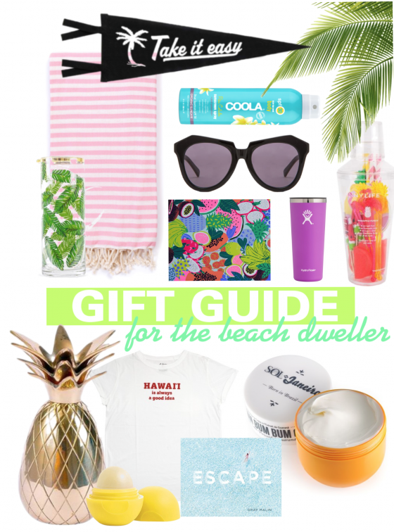 A Gift Guide For Beach Lovers - Beach Gifts - Gifts For The Beach - Hawaii Gifts - Gifts Ideas For Her - Gift Ideas For Him - Christmas 2017 - Communikait by Kait Hanson
