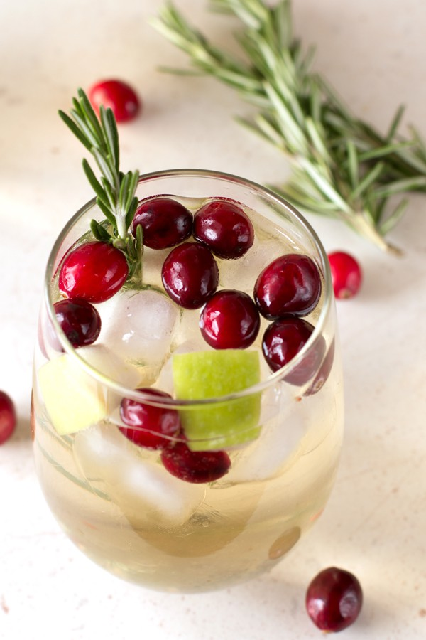Christmas Sangria - 12 Festive Cocktails For Any Holiday Occasion - Communikait by Kait Hanson
