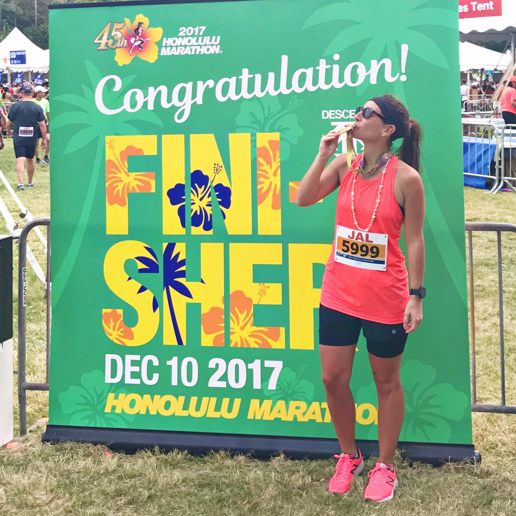 Holy Shit - I Ran A Marathon - 2017 Honolulu Marathon - Marathon Tips - Marathon Race - Communikait by Kait Hanson