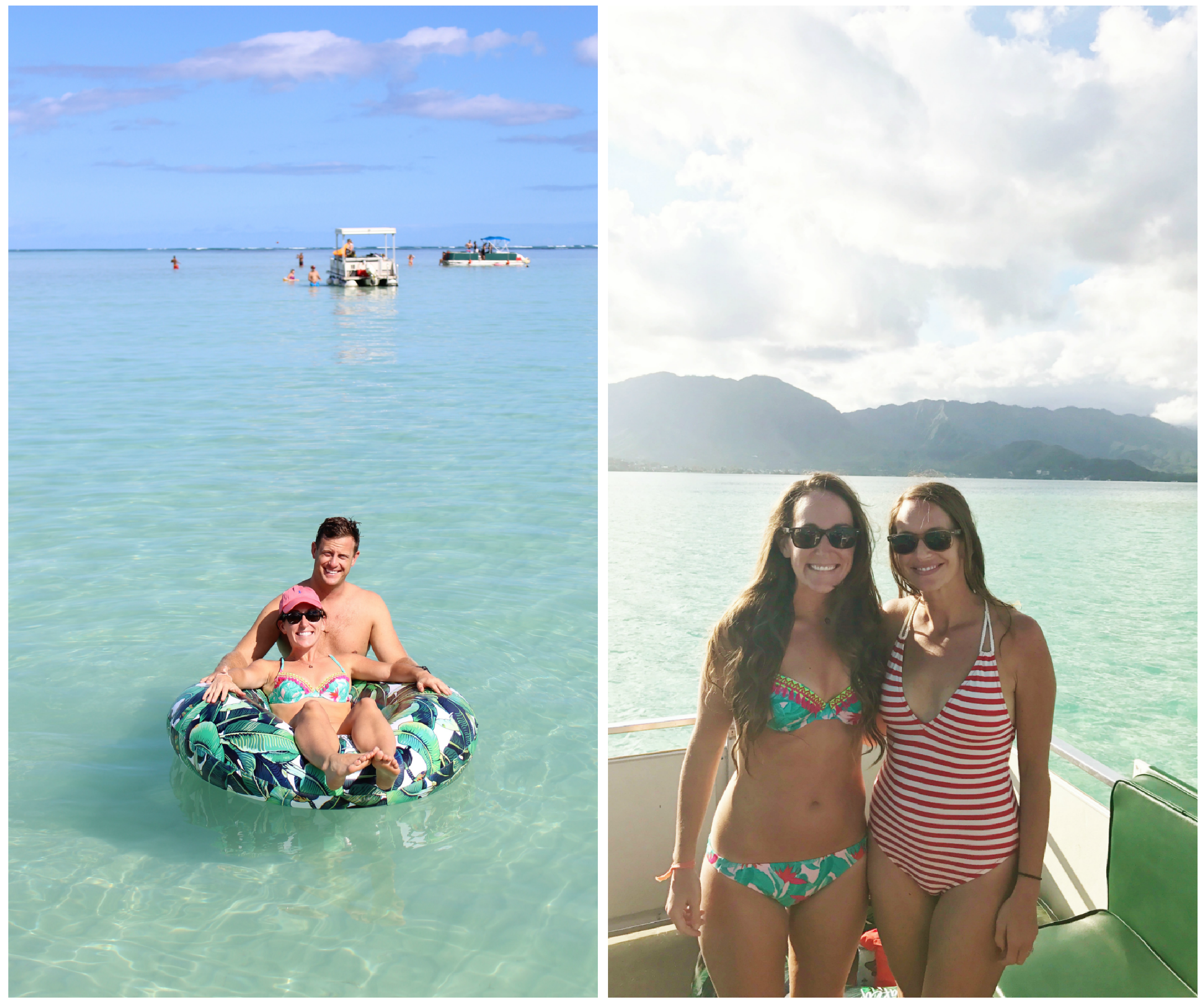 Kaneohe Sandbar Oahu - Life Lately - Communikait by Kait Hanson