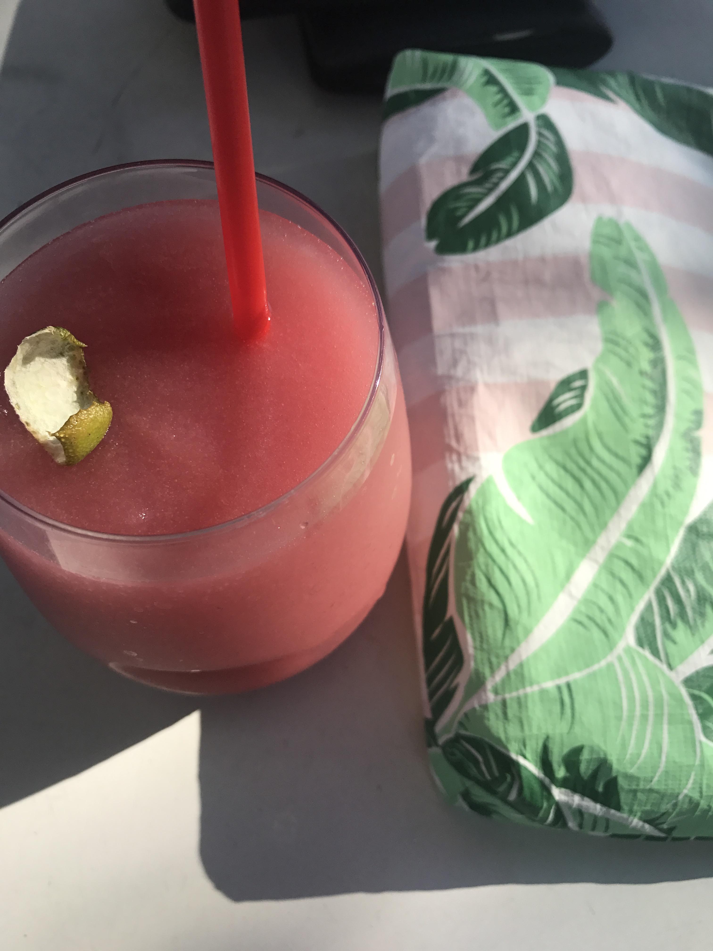 Frozen Pomegranate Margarita - Communikait by Kait Hanson