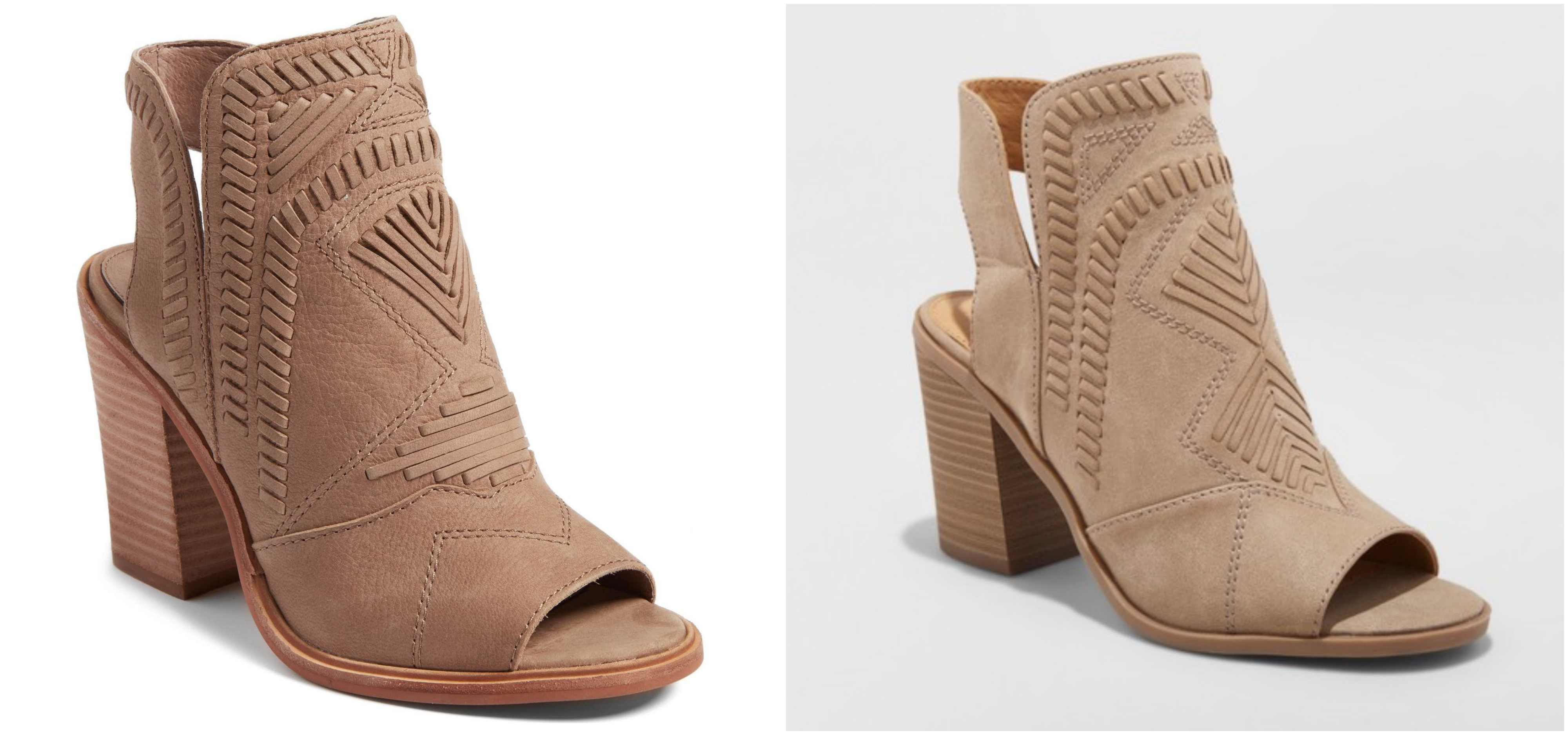 Open Toe Bootie - Best Target Shoe Dupes - Communikait by Kait Hanson
