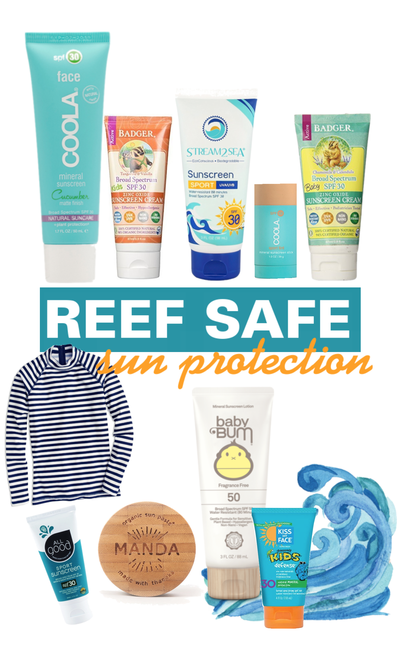 Ultimate Guide To Reef Safe Sunscreen - Best Environmentally Friendly Sunscreen - Reef Safe Sun Protection - Eco-Friendly Sunscreen - Save Our Oceans - Hawaii Sunscreen - Communikait by Kait Hanson