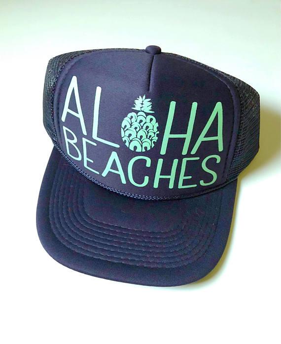 Aloha Beaches Hat - 5 On Friday - Communikait by Kait Hanson