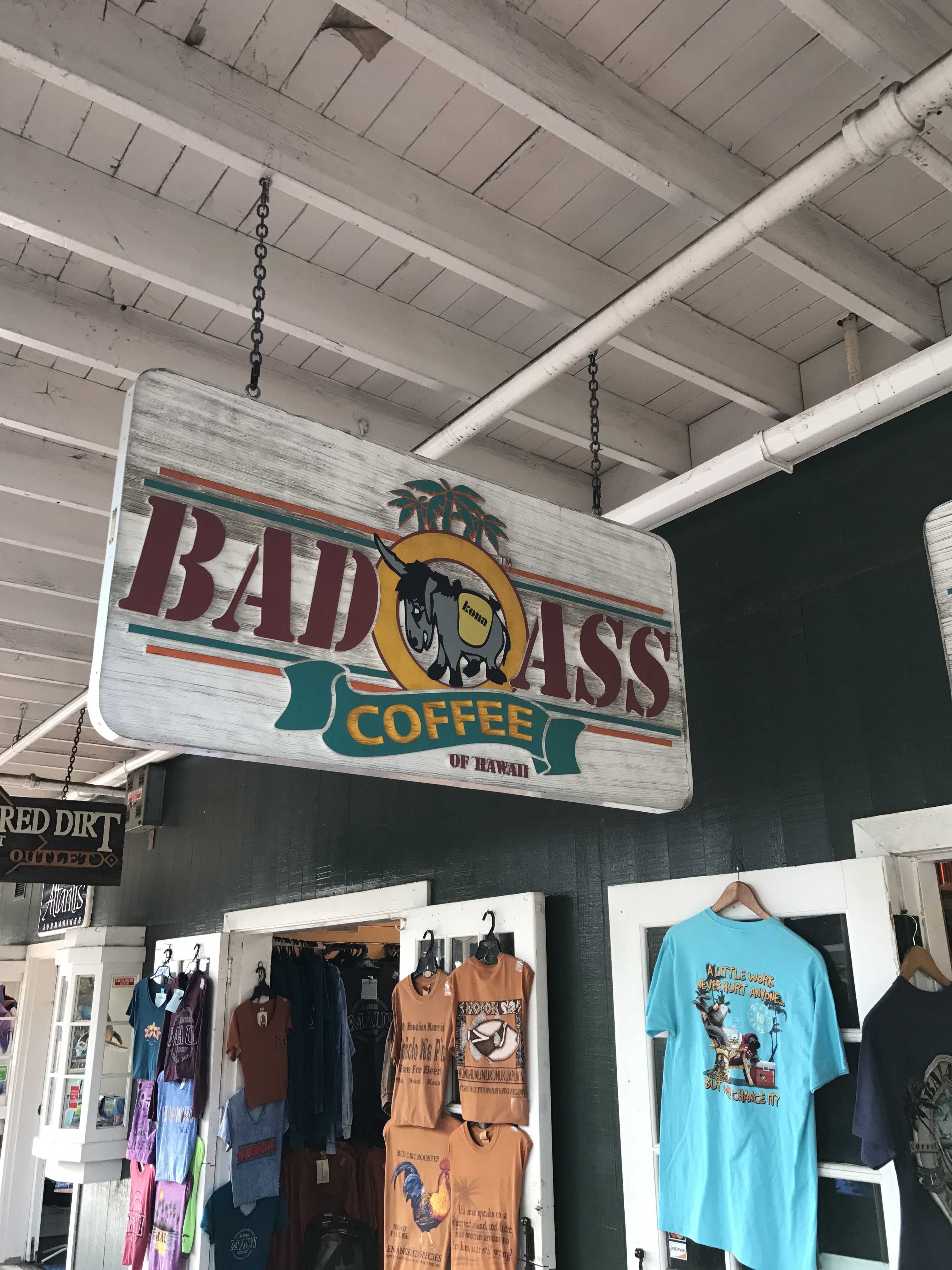 Bad Ass Coffee - Lahaina, Maui - 5 Must Visit Coffee Shops On Maui - Maui Itinerary - Hawaii Coffee - What To Do On Maui - Hawaii Travel Tips - Communikait by Kait Hanson