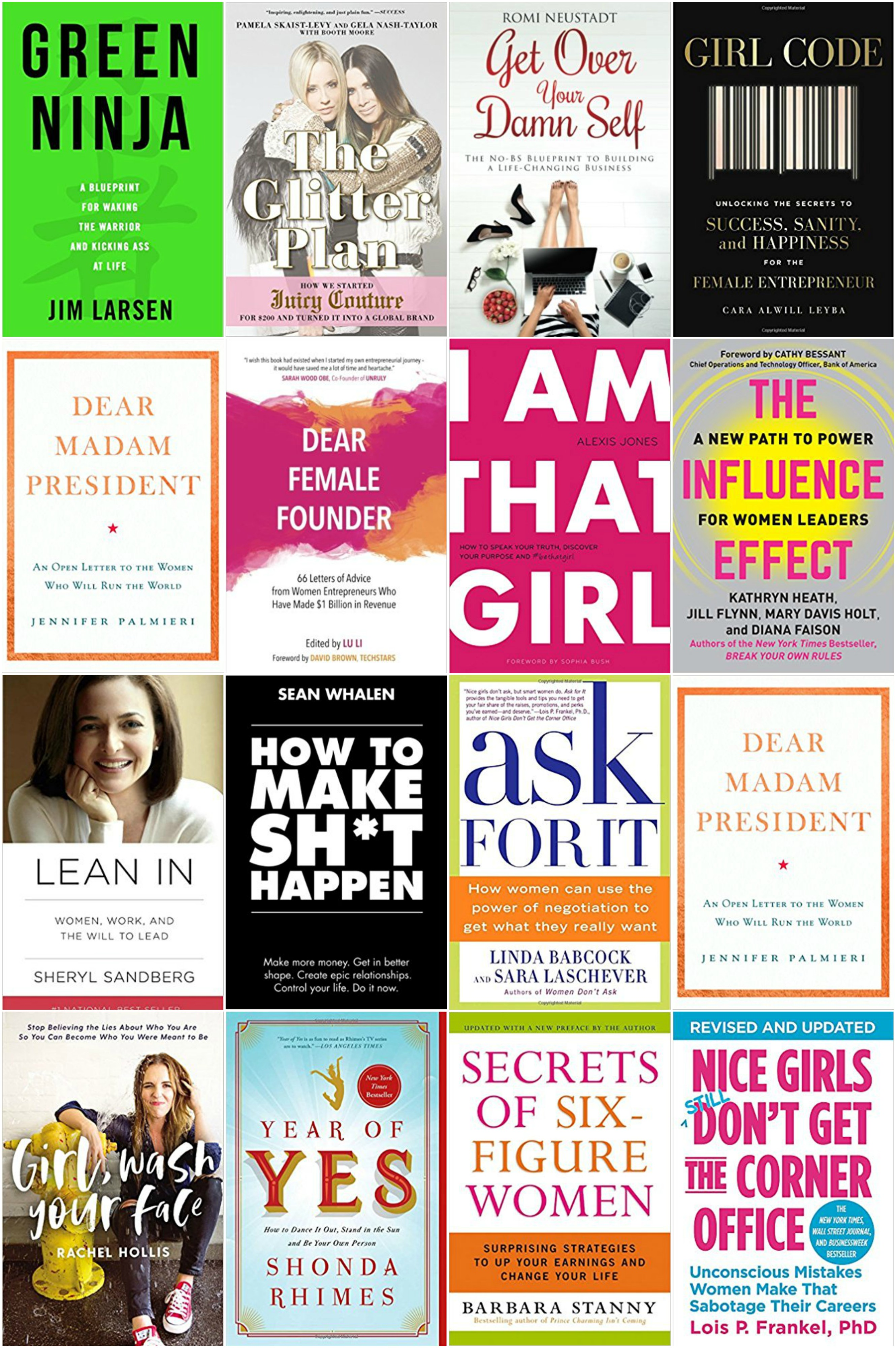 16 Inspiring Books For Females Who Want To Run The World - Female Entrepreneur Books - Books For Female Creatives - Girl Boss - Books For Women - Communikait by Kait Hanson