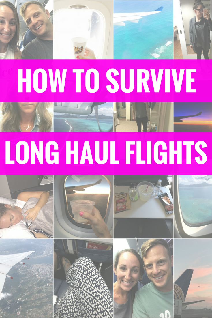 How I Survive Long Haul Flights - Flying Tips - Travel Tips - Long Flight Hacks - Travel Ideas - Communikait by Kait Hanson
