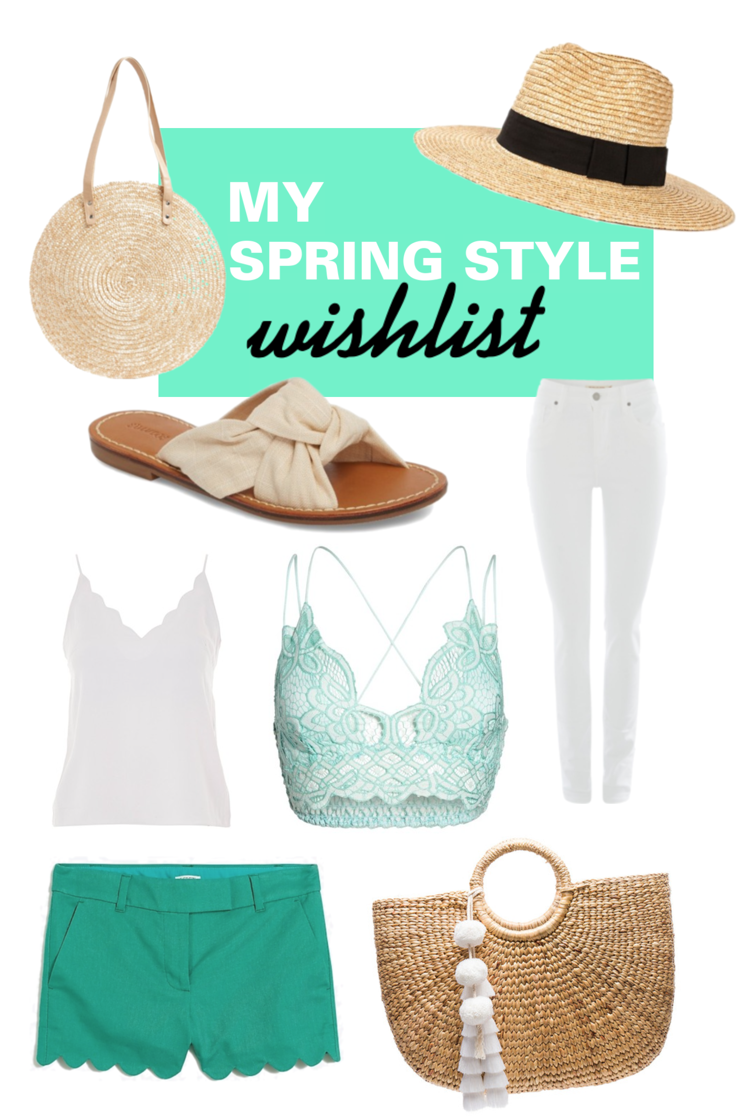 My Spring Style Wishlist - Spring Style - Fashion Roundup For Spring 2018 - Basket Bags - Communikait by Kait Hanson
