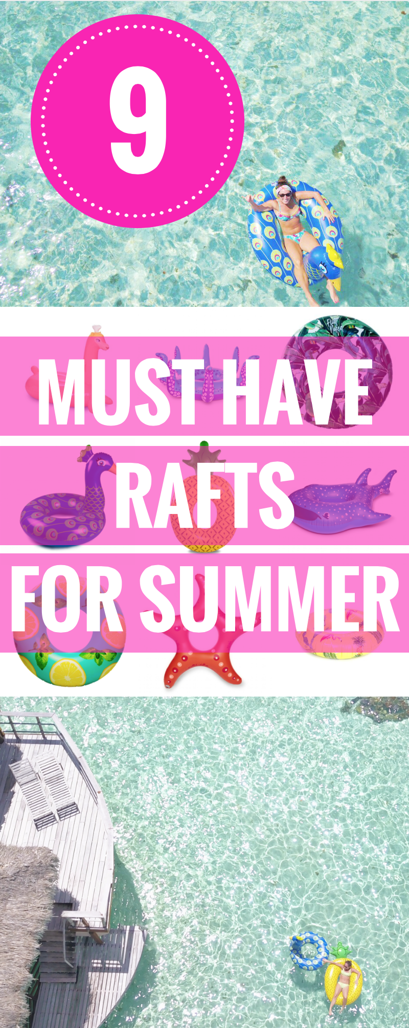 Loving Lately: Pool Float Edition - Pool Floats For Adults - Summer Beach Floats - Awesome Floats - Pool and Beach Floats For Kids - Communikait by Kait Hanson