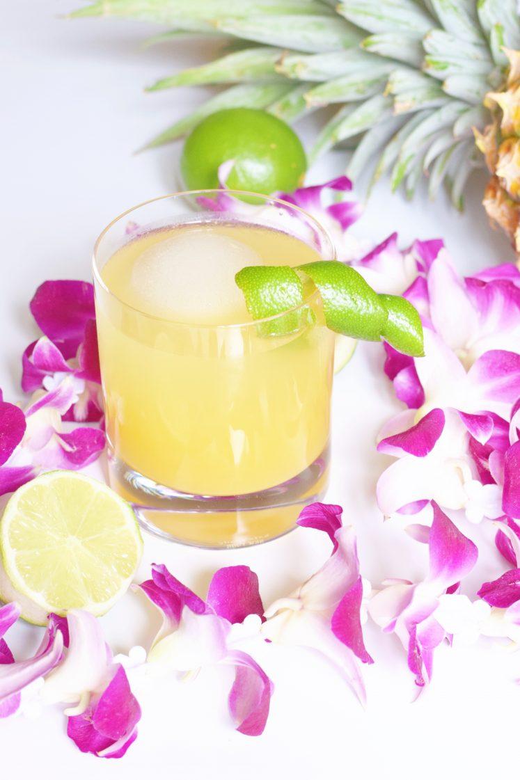 Pineapple Pool Boy Summer Cocktail