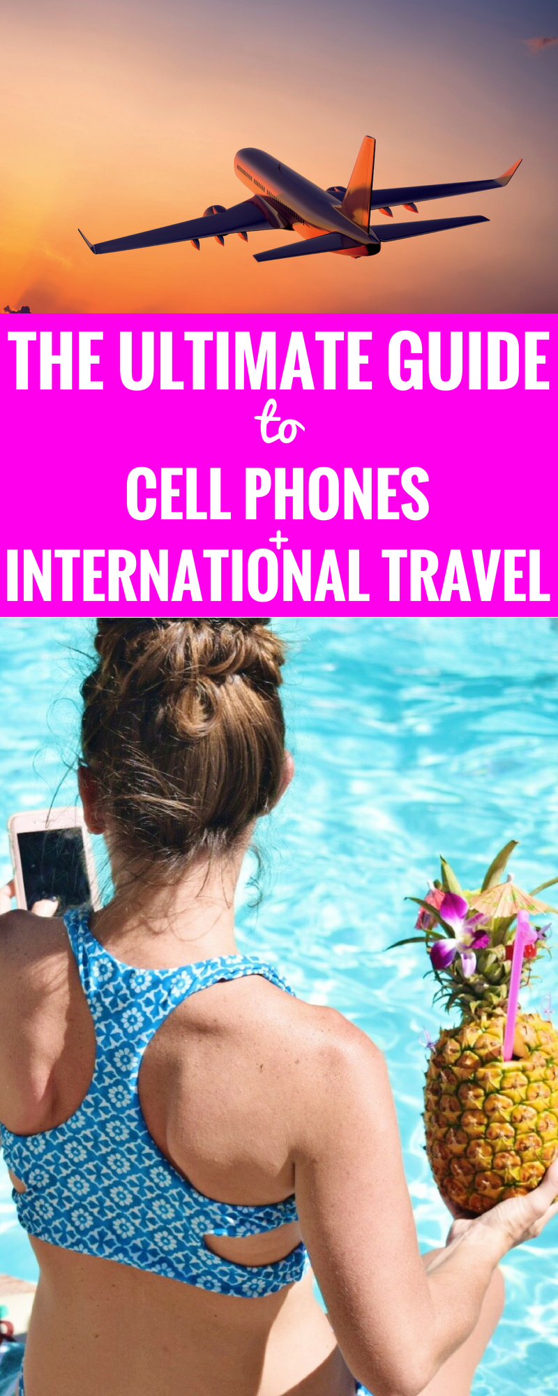 Cell Phones + International Travel - What you need to know about using your cell phone while traveling to a different country - Travel Tips - Travel Hacks - Tips For Saving Money While Traveling - Communikait by Kait Hanson