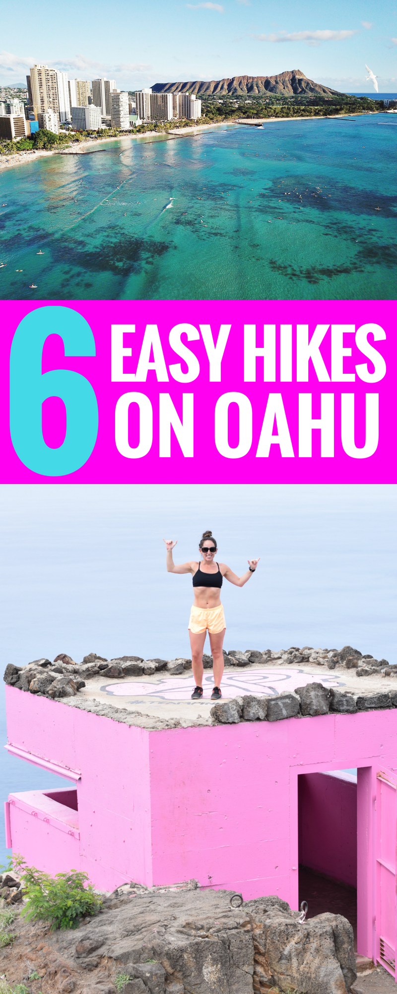 6 Easy Hikes On Oahu - Hiking In Hawaii - Oahu Hikes - Where to hike on Oahu - Hawaii Itinerary - Travel Tips for Hawaii - Hawaii Vacation - Hiking Tips - Communikait by Kait Hanson