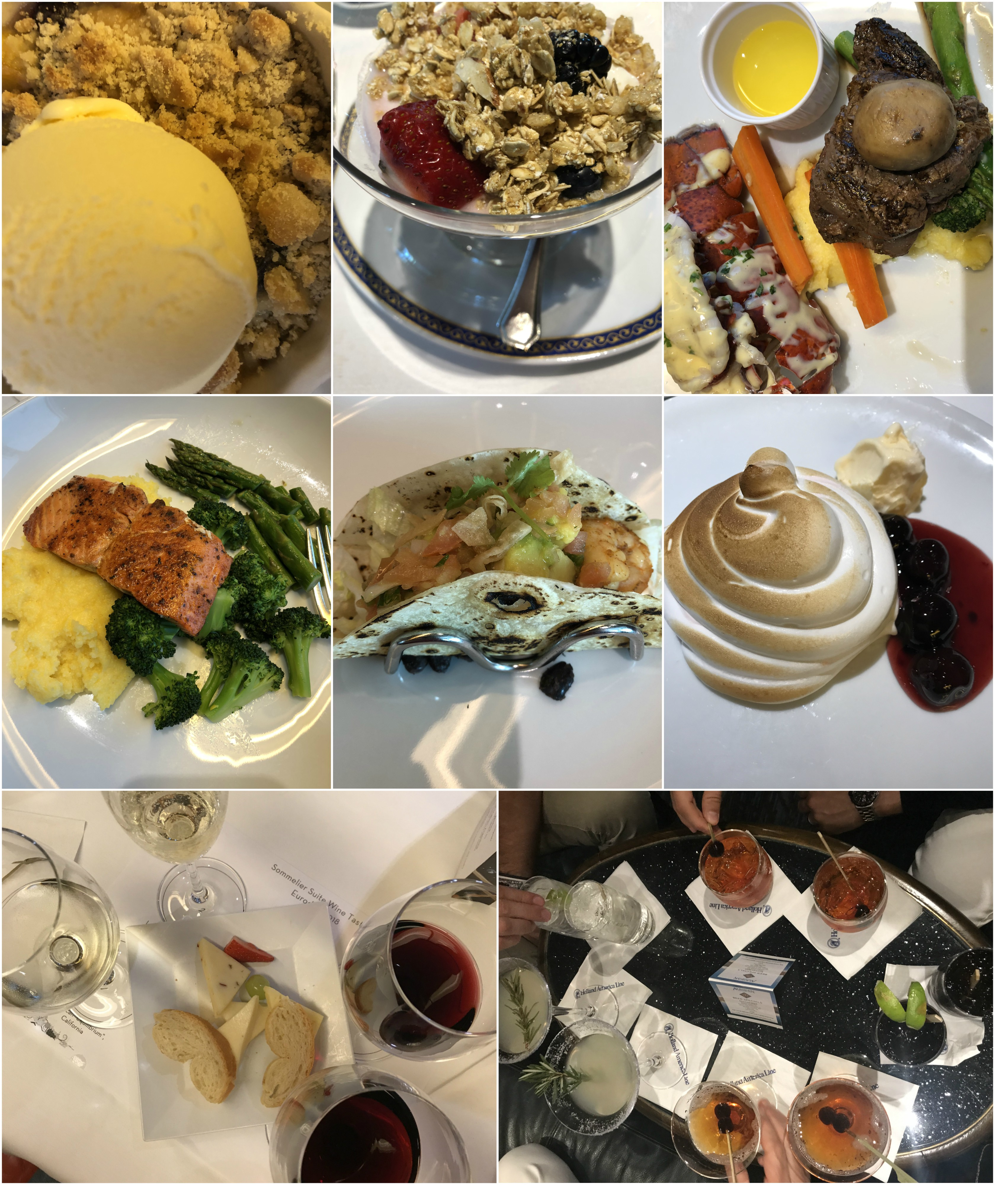 HollandAmericaFood - What I Really Thought About Our 7-Day Holland America Cruise To Alaska - Cruise To Alaska - Holland American Cruise Line - Alaska Itinerary - Communikait by Kait Hanson
